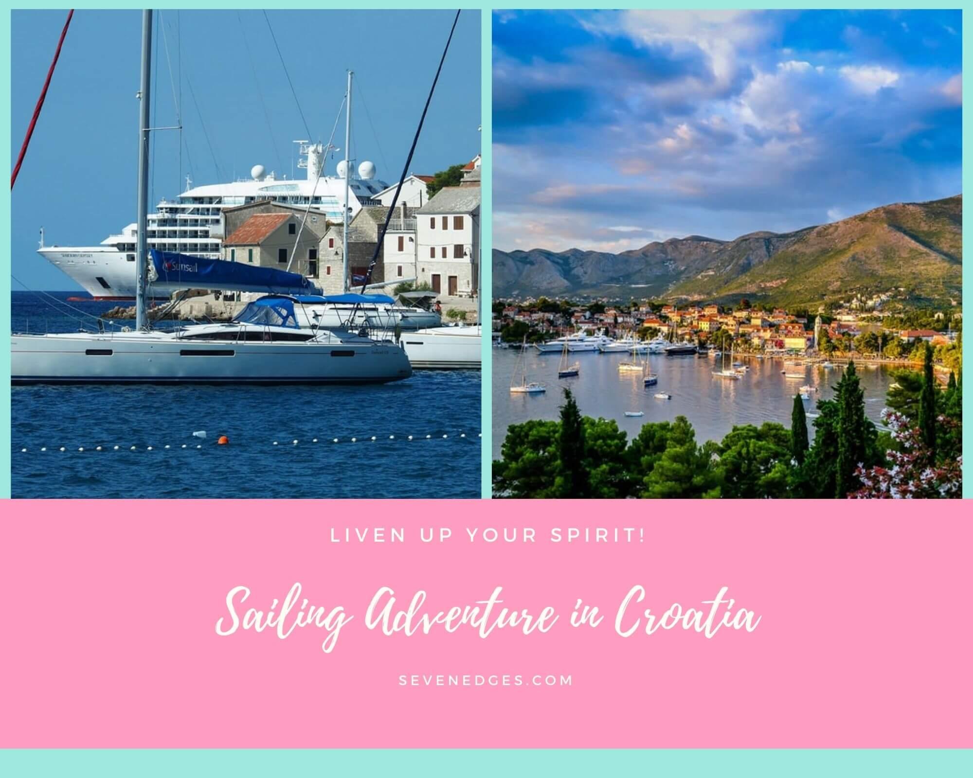 Sailing in Croatia