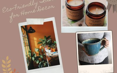 Simple Eco-Friendly Ideas For Home Décor