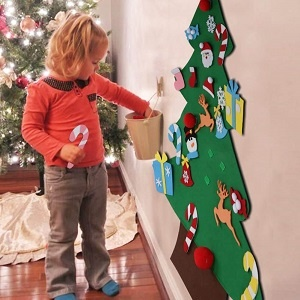 Felt Christmas Tree Set