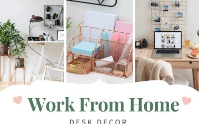 Work from Home Desk Décor that Make You Work Even on Sundays