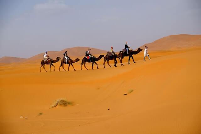 Morocco Desert Camping